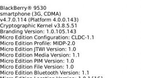 Blackberry Storm Firmware 4.7.0.114 Leaked