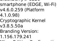 OS 4.6.0.259 Leaks for the BlackBerry Flip