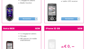 32GB iPhone confirmed on T-Mobile Austria website