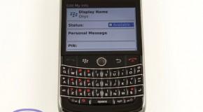 Blackberry's new Blackberry Messenger Application