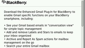 RIM developing new Gmail plugin