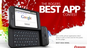 Rogers best application contest on Android Devices