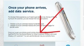 T-Mobile MyTouch 3G to have Visual Voicemail