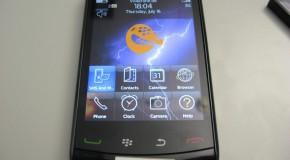 BlackBerry Odin 9520 GSM version shows itself