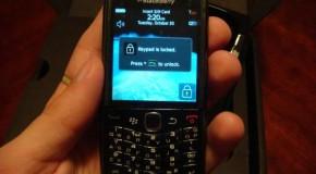 Sneak Peak of the BlackBerry Pearl 9100 Codename Stratus