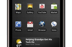 Google makes the Nexus One phone official