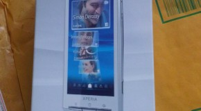Sneak Peak of the Sony Ericsson Xperia X10