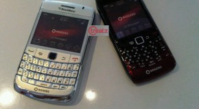 White BlackBerry Bold and Pearl 9100 dummies arrive at Rogers stores