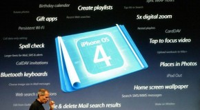 Apple announces iPhone OS 4.0