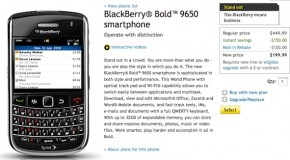 BlackBerry Bold 9650 Now Available for Sprint