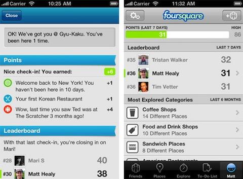 foursquare leaderboard