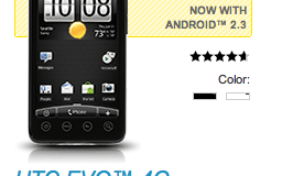 HTC EVO 4G now shipping with Android 2.3?