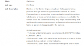 Apple job listing outs possible Sprint iPhone?