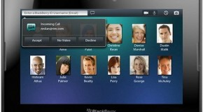 BlackBerry PlayBook getting updated this week; bringing video chat, BBM, and more
