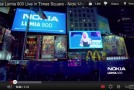 Nicki Minaj and Nokia light up Time Square for the Lumia 900 launch